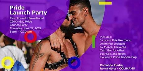 Pride Launch Party - Mexico City / Fiesta de Apertura del Orgullo entradas