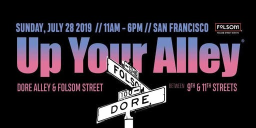 Volunteer for UP YOUR ALLEY 2019