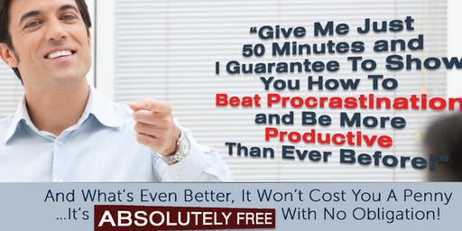 How to GET more done in less time & CREATE a mindset of excellence!