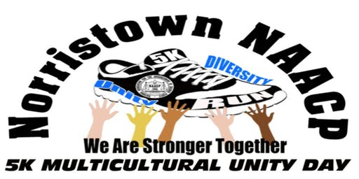 Norristown NAACP 1st Annual 5K Multicultural Unity Day - Vendor Registration