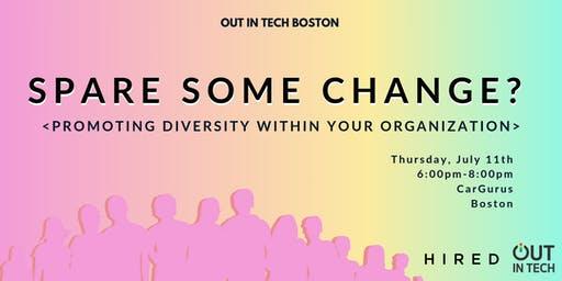Out in Tech Boston | Spare Some Change?