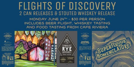 Flights of Discovery and Can Release tickets