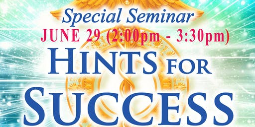 "Meditation Seminar ""Hints for Success"""