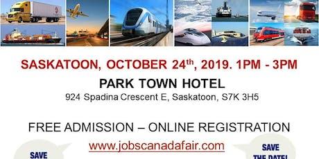 Saskatoon Transportation Job Fair – October 24th, 2019 tickets