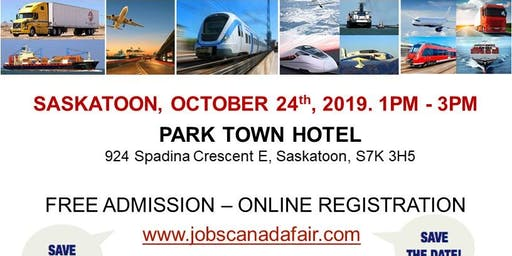 Saskatoon Transportation Job Fair – October 24th, 2019