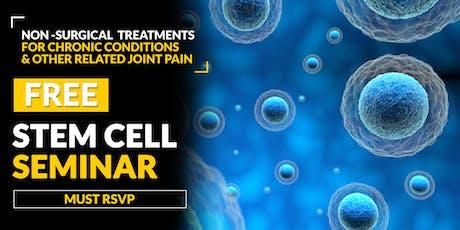 FREE Stem Cell and Regenerative Medicine Seminar - Houston, TX 6/27  tickets