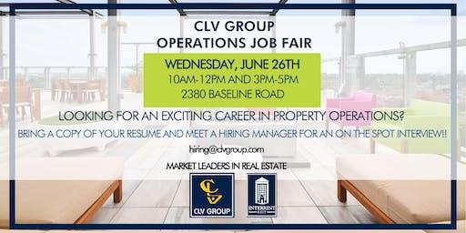 Operations Job Fair