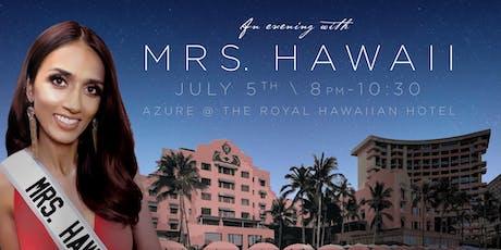 Mrs. Hawaii United States Benefit tickets