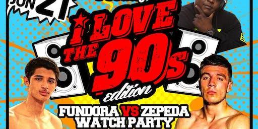 EATS & DRINKS FRIDAY | FUNDORA VS ZEPEDA WATCH PARTY | DJ SNS | JUNE 21