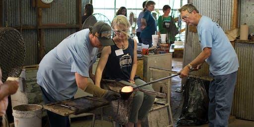 Glassblowing Workshop - Saturday, August 3 at 8:30am