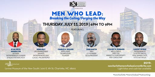 Men Who Lead: Breaking the Ceiling/Forging the Way