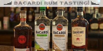 Bacardi Rum Tasting