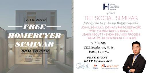 The Social Seminar: Homebuyer Seminar