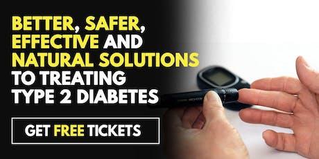 FREE Diabetes Treatment Seminar - Houston, TX 6/27 tickets