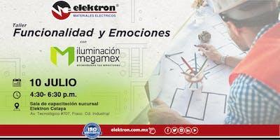 """Taller Megamex \""""Funcionalidad y Emociones\"""" Celaya"""