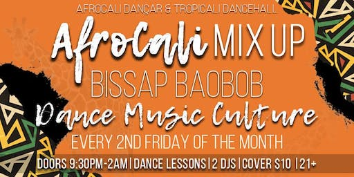 AfroCali Mix Up: Afro-Caribbean Dance Party!