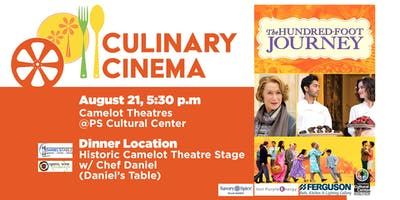Culinary Cinema: THE HUNDRED FOOT JOURNEY w/ Chef Daniel from Daniel's Table