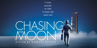 6:45pm: 'Chasing the Moon' Preview Screening and Rocket Men Guest Speakers