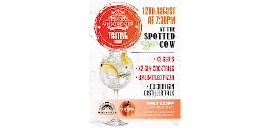UNIQUE GIN FESTIVAL-GIN TASTING  WITH CUCKOO GIN