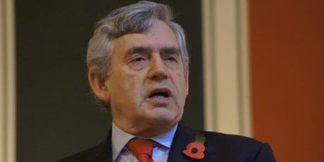 Gordon Brown speech on combatting the far right tickets