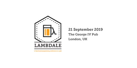 LambdAle 2019 tickets