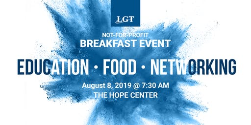 Not-for-Profit Breakfast 8.8.19