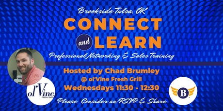 Brookside, OK: Connect & Learn | Professional Networking and Sales Training tickets
