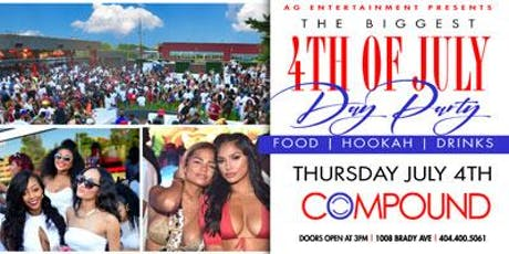 The BIGGEST 4th of July Day Party at Compound tickets