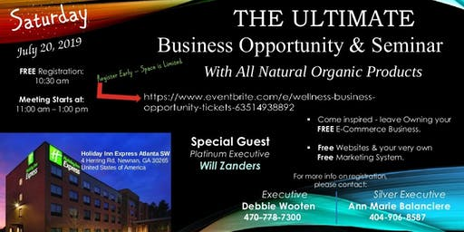 Wellness Business Opportunity