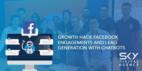Facebook Marketing Masterclass & ChatBot Course (SkillsFuture Eligible) tickets