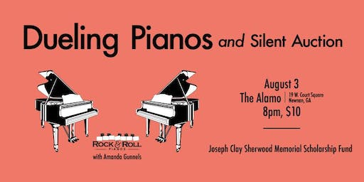 Dueling Pianos + Silent Auction for the Joseph Sherwood Memorial Scholarship