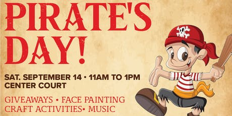Kids Club: Pirate's Day tickets