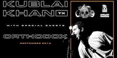 Kublai Khan w/ Orthodox, Heavyweight, Manhattan Blockade