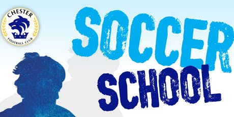 Chester FC Soccer School - Summer tickets