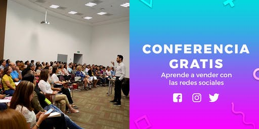 CONFERENCIA GRATIS - Aprende a vender con Facebook e Instagram para negocios (am)