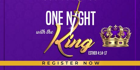 """Women's Conference """"One Knight with the King"""" tickets"""