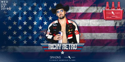 Top Tier's 3rd Annual 3rd of July Party at UF ft Ricky Retro!