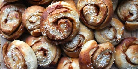 Scandinavian Saturday: Cinnamon Buns tickets
