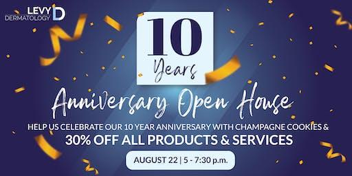 10 Year Anniversary Open House