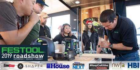 Festool Roadshow 2019: Madison tickets