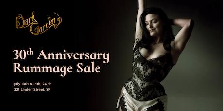 Dark Garden 30th Anniversary Rummage Sale & VIP Pre-Sale tickets