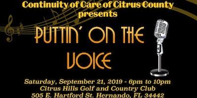 Puttin' On The Voice Fundraiser Event