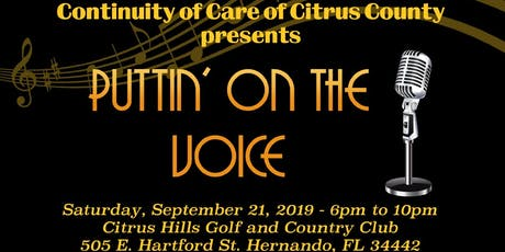 Puttin' On The Voice Fundraiser Event tickets