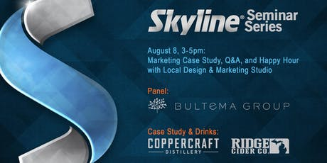 Marketing Case Study, Q&A, & Happy Hour w/ Local Design & Marketing Studio tickets