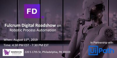 Fulcrum Digital Roadshow on Robotic Process Automation