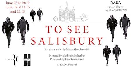 To see Salisbury tickets