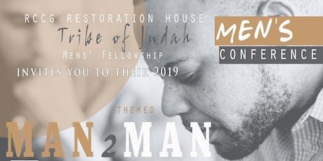"""Tribe of Judah Men's Conference 2019 -""""MAN2MAN"""" tickets"""