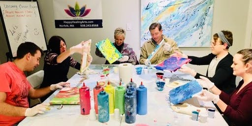 Fluid Art Paint Party