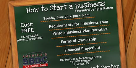 How to Start a Business tickets