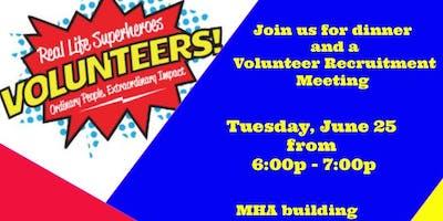 SUPERHERO Volunteer Recruitment Meeting